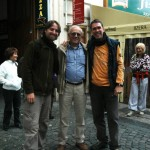 Prague 2009, with Stefano Ziani and Gianfranco Sama