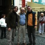 Prague 2009, with Stefano Ziani and Gianfranco Sama