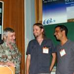 With Turben Larsen and Avihai Benyamini