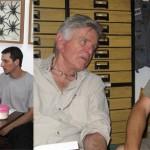 Buenos Aires, December 2006. With  Rudi Mattoni, and Gaston Zubaran.
